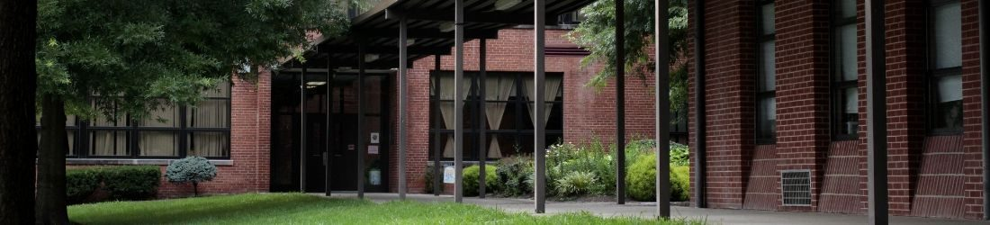 Exterior of Knox County Middle showing entrance