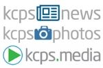 Logos for kcps.news, kcps.photos and kcps.media sites