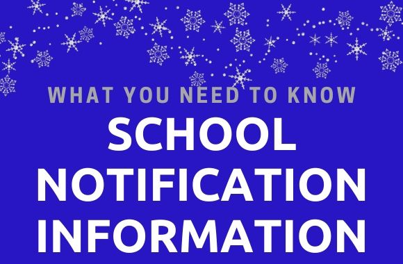 What you need to know about school notifications