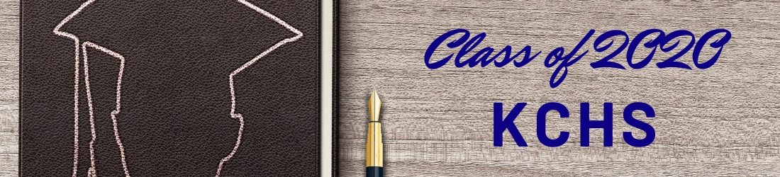 Page header, notebook with graduate outline on hardwood. Class of 2020