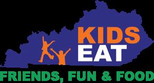 Logo for Kentucky Kids Eat, Friends - Fun - Food