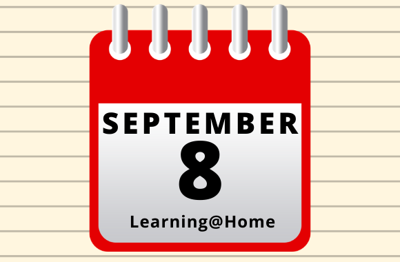 Calendar showing September 8 as back to school date