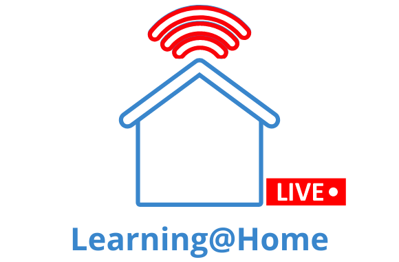 Learning at Home Live Class Times logo