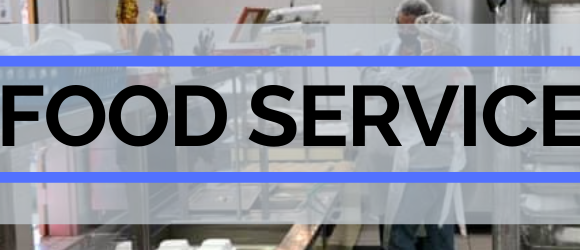School Food Service header image of kitchen