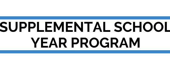 Page header supplemental school year program