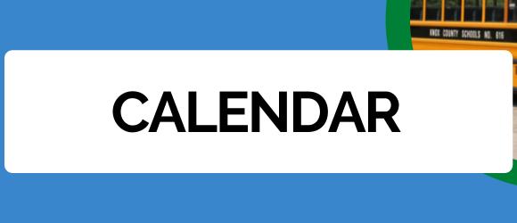 Page header stating calendar