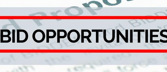 Bid Opportunities header