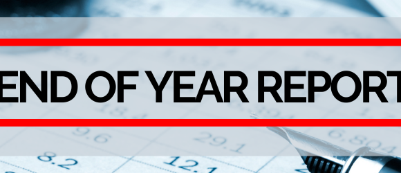 End of Year Reports header