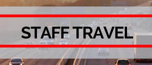 Staff travel header
